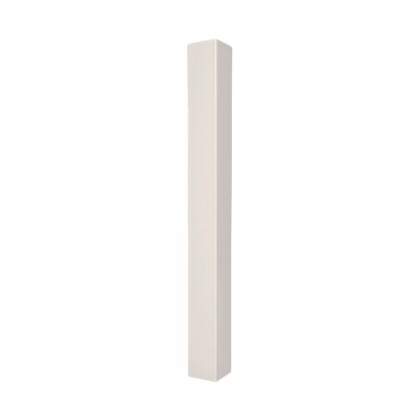 "Durables 4"" Sq. End Post (Tan) - LTPT-END-4X72 (Blank Post Shown As Example)"