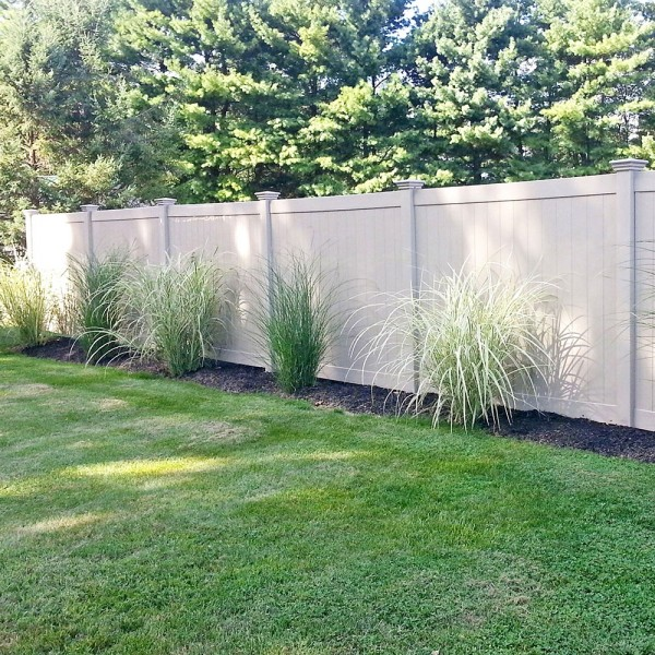 Durables 6' High Ashforth Privacy Fence (Tan)