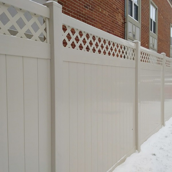 Durables 5' High Canterbury Privacy Fence (Tan)