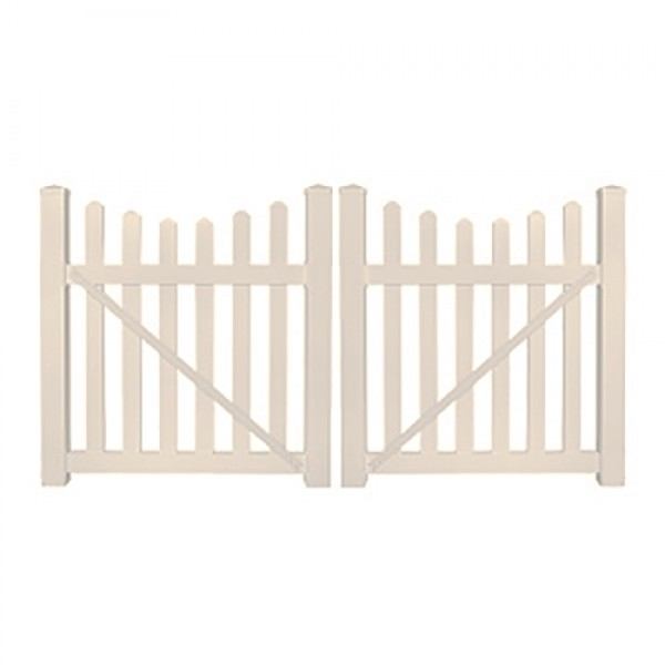 "Durables 3' x 60"" Darlington Double Gate (Tan) - DTPI-3SC-3X60"