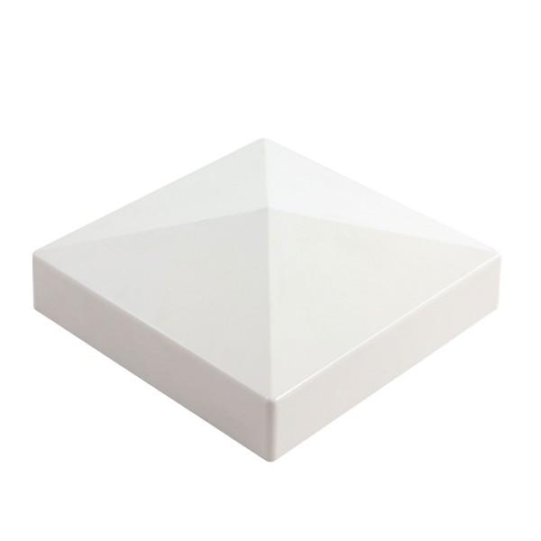 "Durables 5"" Sq. External Post Cap (Tan) - ATCP-EXT-5 (White Shown As Example)"