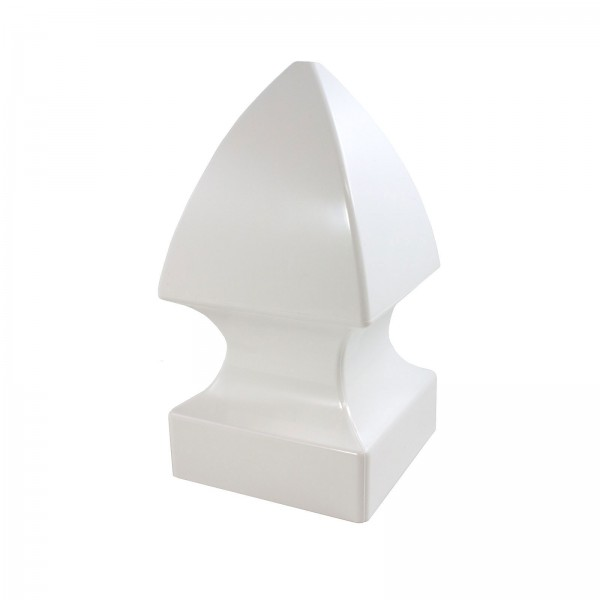 "Durables 4"" Sq. Gothic Post Cap (Tan) - ATCP-GOTHIC-4 (White Shown As Example)"
