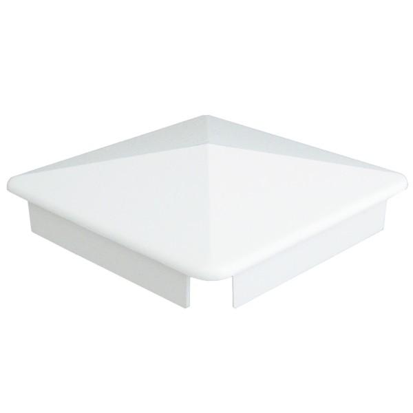 """Durables 4"""" Sq. Internal Post Cap (White) - AWCP-INT-4"""