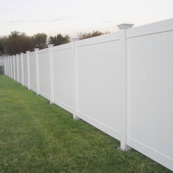 Durables 5' High Wendell Privacy Fence (White)
