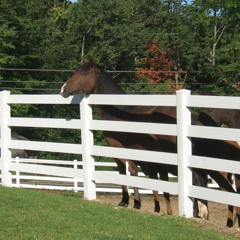 4-Rail Horse Fence