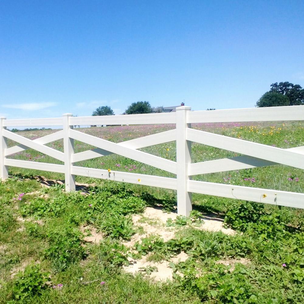 Crossbuck Horse Fence